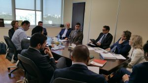 Italian Hospital Delegation meets Ministry of Health and Prevention - United Arab Emirates - UAE